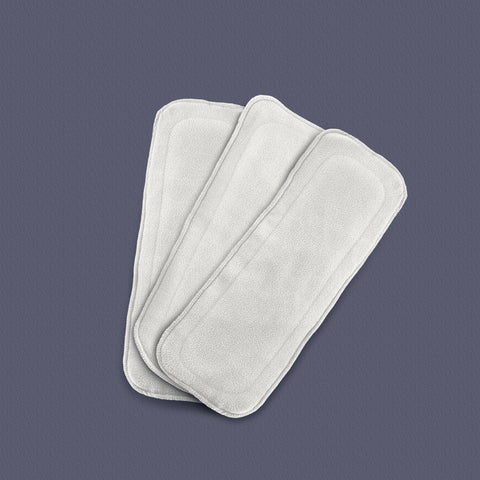 White Cloth Diaper Inserts