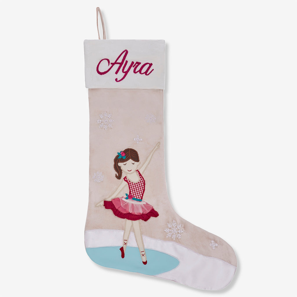 Personalised Luxe Stocking - Ballerina