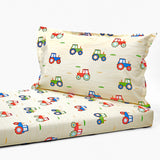 Bedsheet Set - Tractor, Single/Double Bed Sizes Available