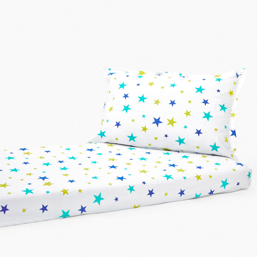 Bedsheet Set - Sparkle, Single/Double Bed Sizes Available