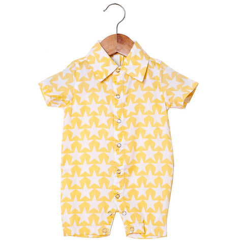 Boy's Romper - Star