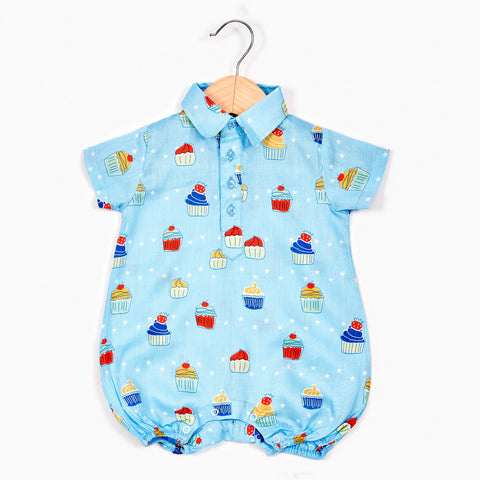 Boy's Romper - Muffin