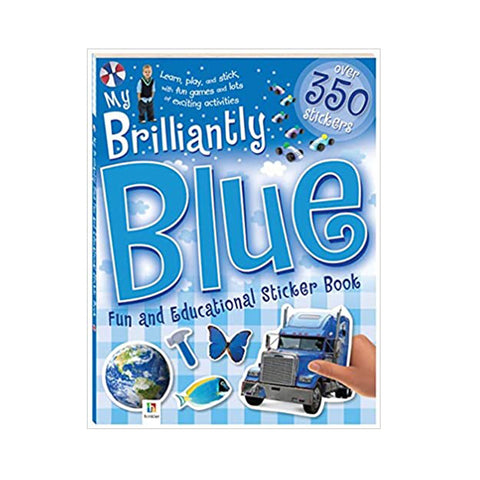 My Brilliantly Blue Fun and Educational Sticker Book