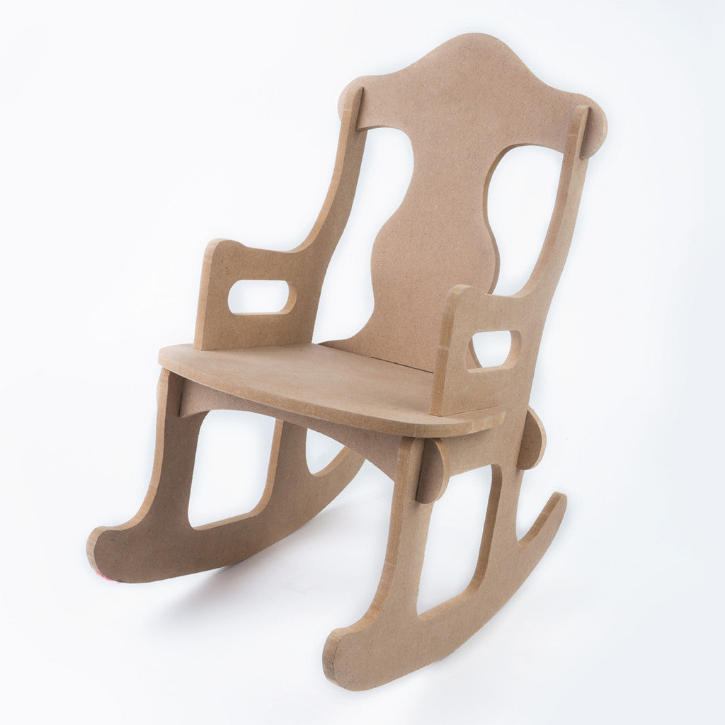 Build - a - Rocking Chair (With an Initial)