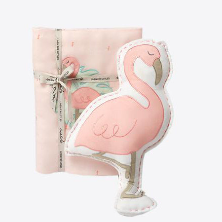 Tuck Me In Gift Bundle - Hello Flamingo - Can be Personalised