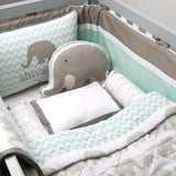 Baby Rock My Crib Gift Basket - Elephant Parade
