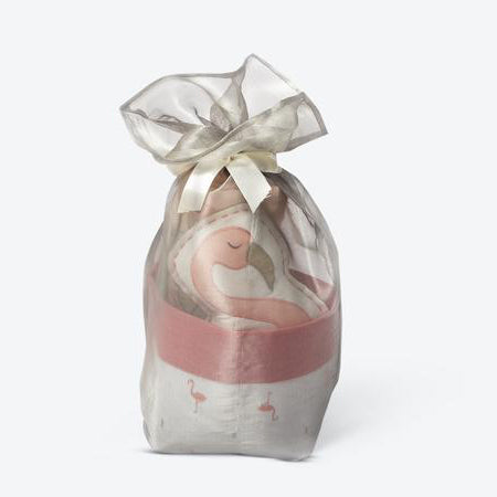 Mini Gift Basket - Hello Flamingo