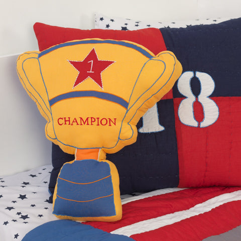 Champion Decorative Pillow