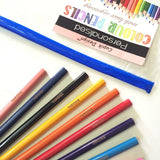 Personalised Colour Pencils - Pack of 12