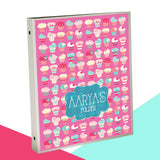 Personalised Binder - Cupcake
