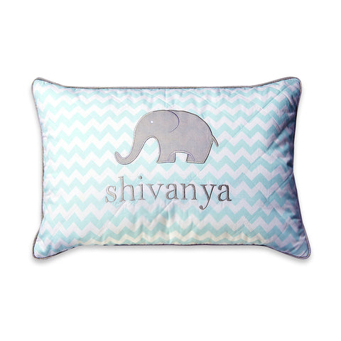 Masilo Personalised Throw Cushion Cover with filler - Elephant Parade