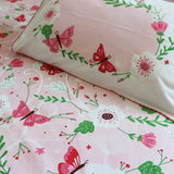 """Bundle of Joy"" Flowers & Butterflies Single Bedsheet Set"