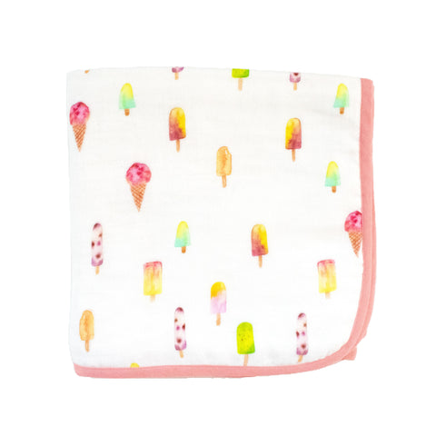 Magical Icecream Muslin Blanket