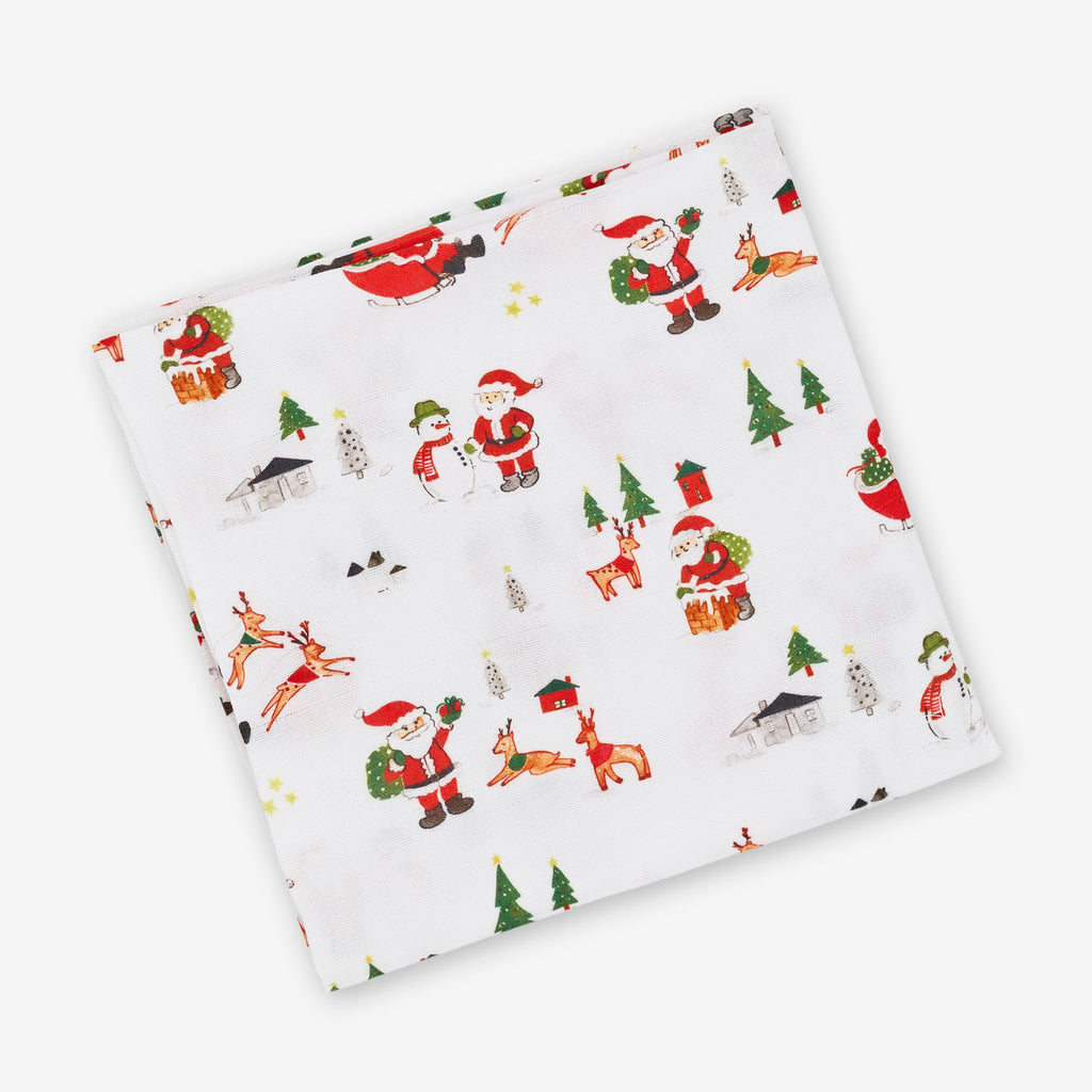 Dear Santa Muslin Swaddle Cloth