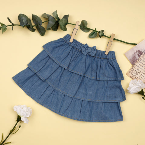 Denim Rara Skirt (3-24M)