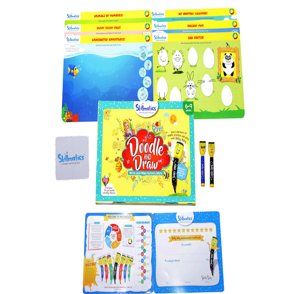 Skillmatics Educational Game - Doodle and Draw