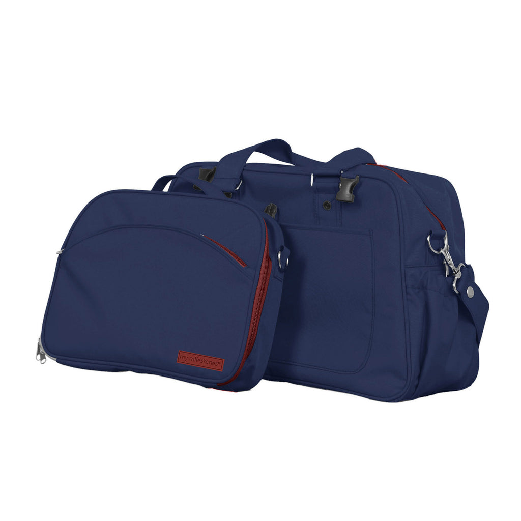 Diaper Bag - Duo Detach  - Navy Blue