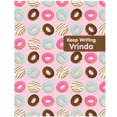 Writing Practice Books, Set of 2<br/>Donuts