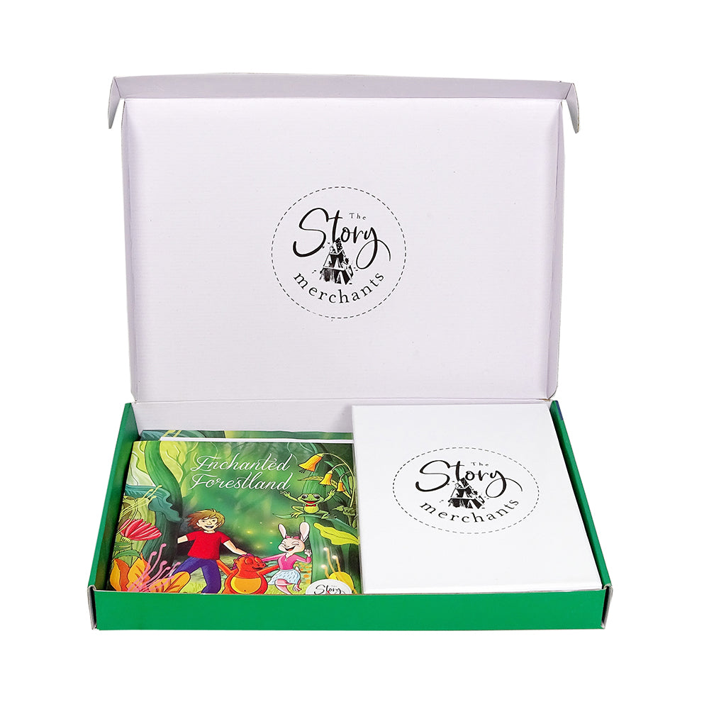 Enchanted Forestland Story Box - Set of stories + Board Game /Story Telling Board