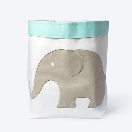 Masilo Fabric Storage Baskets (Jumbo) - Elephant Parade
