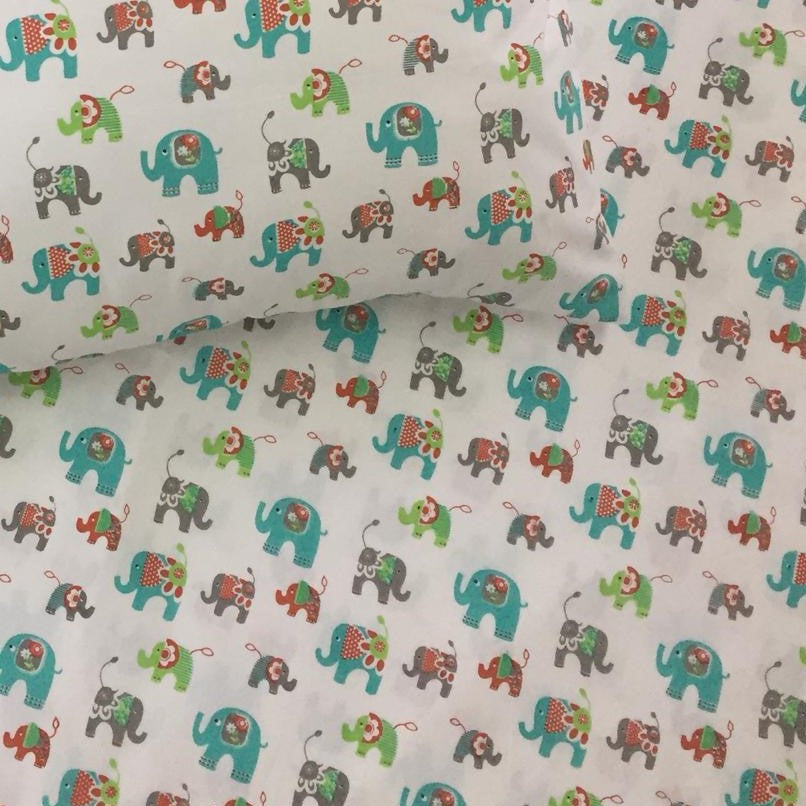 Fitted Cot Sheet - Ella