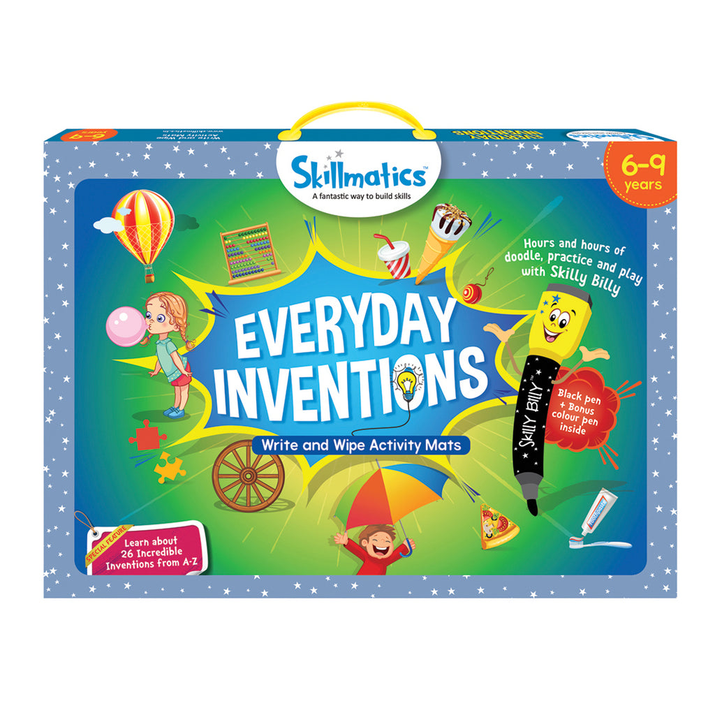 Skillmatics Educational Game - Everyday Inventions