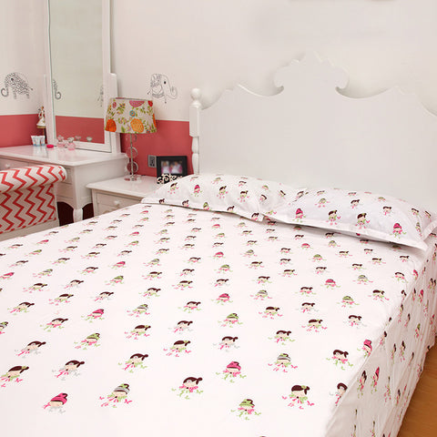 Fairy Wings Bedsheet Set <br> Single/Double Bed Sizes Available