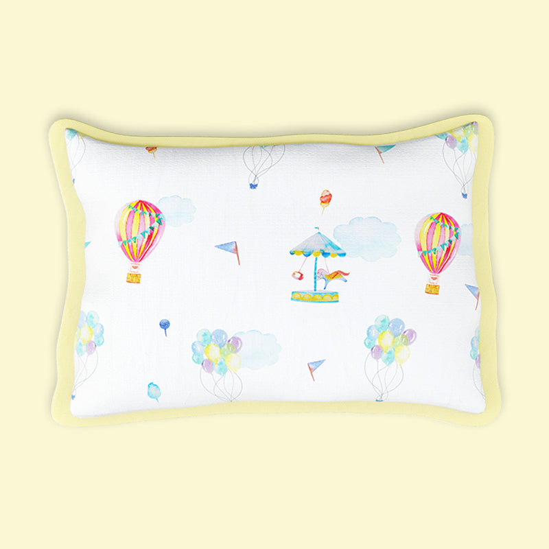 Fancy Fluff Organic Rai Pillow -  Carnival