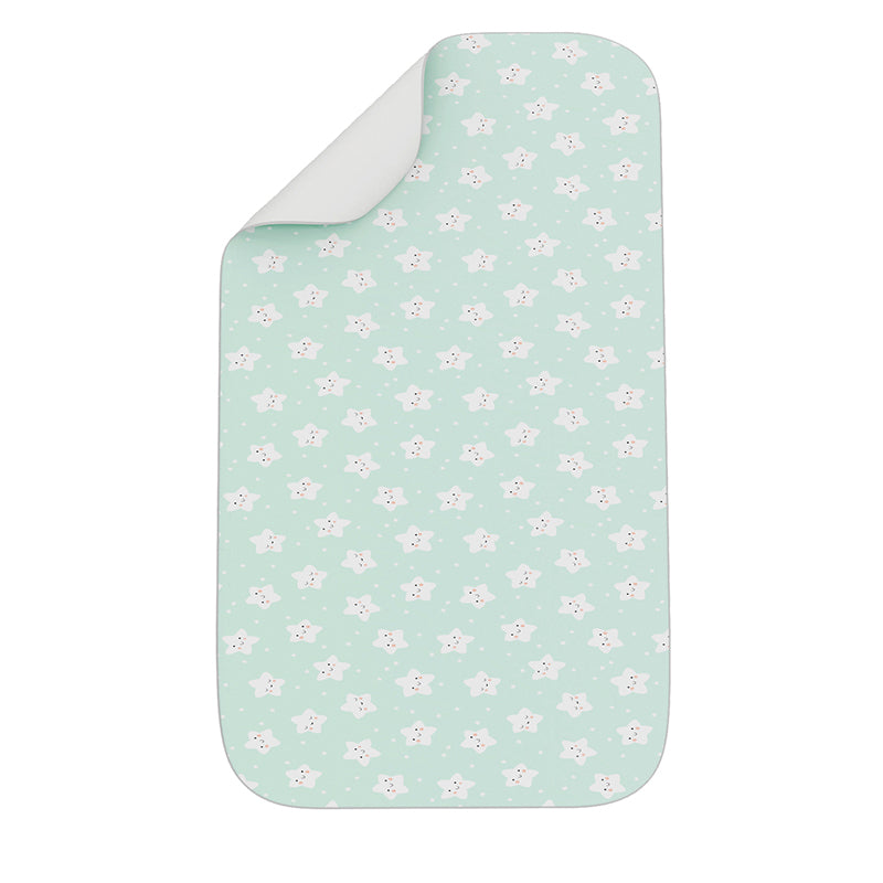 Fancy Fluff Organic Bed Protector - Star