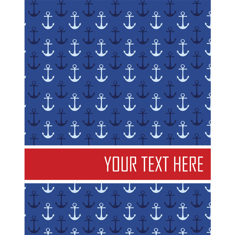 Personalised Folder <br/>Nautical