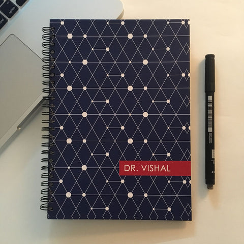 "Personalised ""Forever"" Reusable Notebook - Blue"