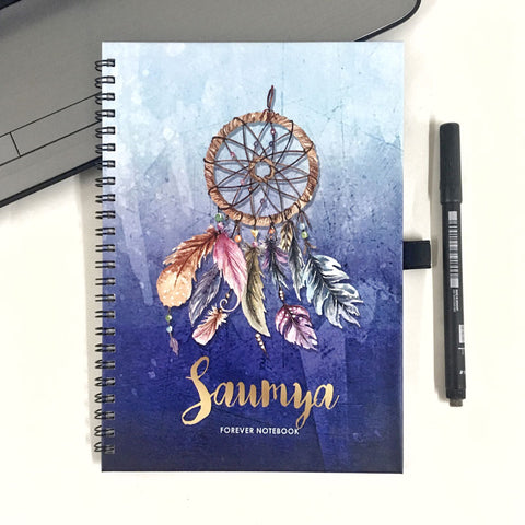 "Personalised ""Forever"" Reusable Notebook - Dtreamcatcher"