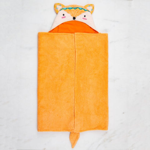 Fox Animal Bath Wrap