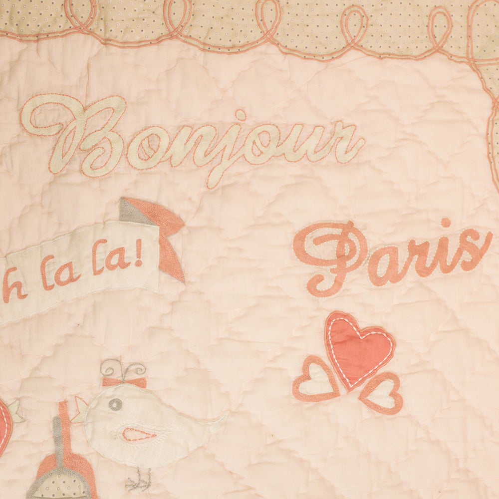 From Paris With Love Quilt