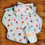 Scoops & Smiles Diaper Clutch