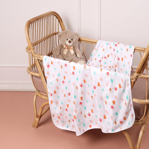 Fun in Forest Bamboo Blankets (0-18 months)