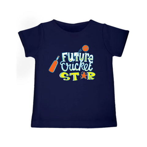 Future Cricket Star - Organic Cotton Tees for Toddlers