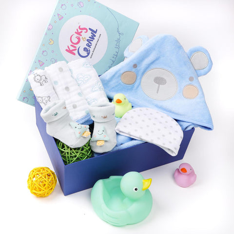 Boys Tubs and Bubs Bathing Hamper
