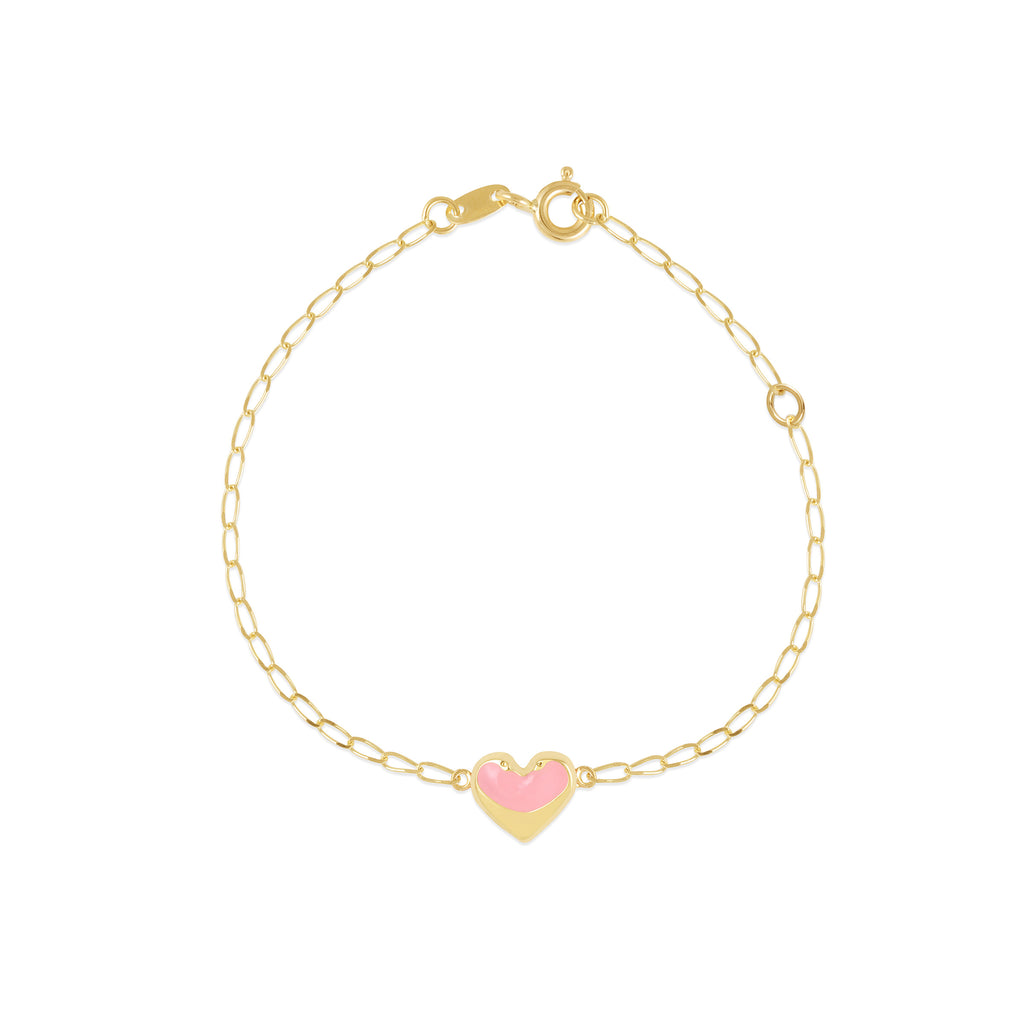 18K Gold Little Hearts Bracelet, Young at Art Collection