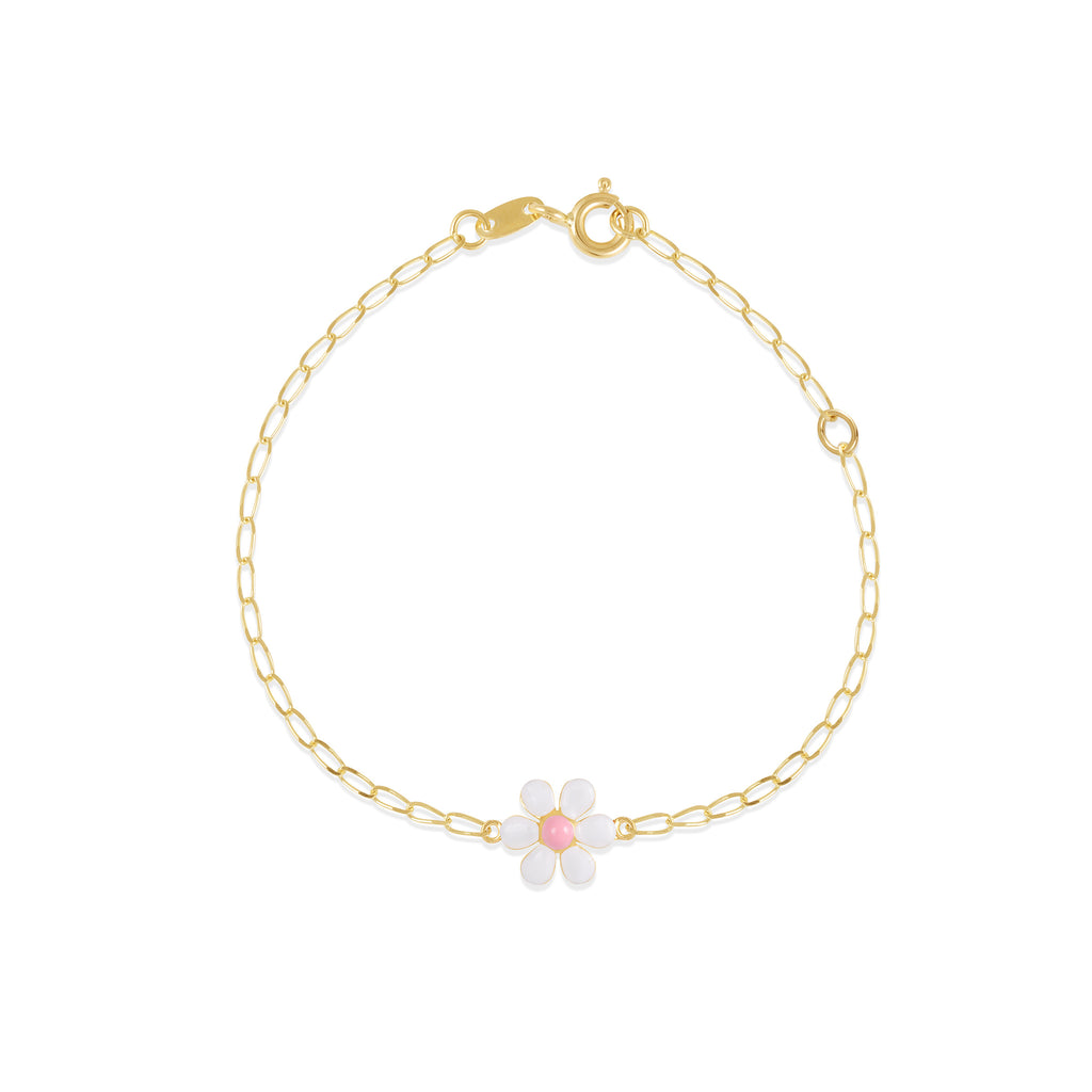 18K Gold Flower in Spring Bracelet, Le Fleur Collection