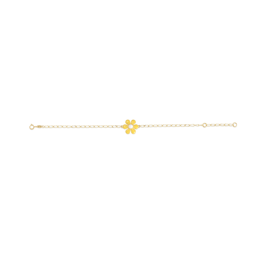 18K Gold Sunny Flower Bracelet, Le Fleur Collection
