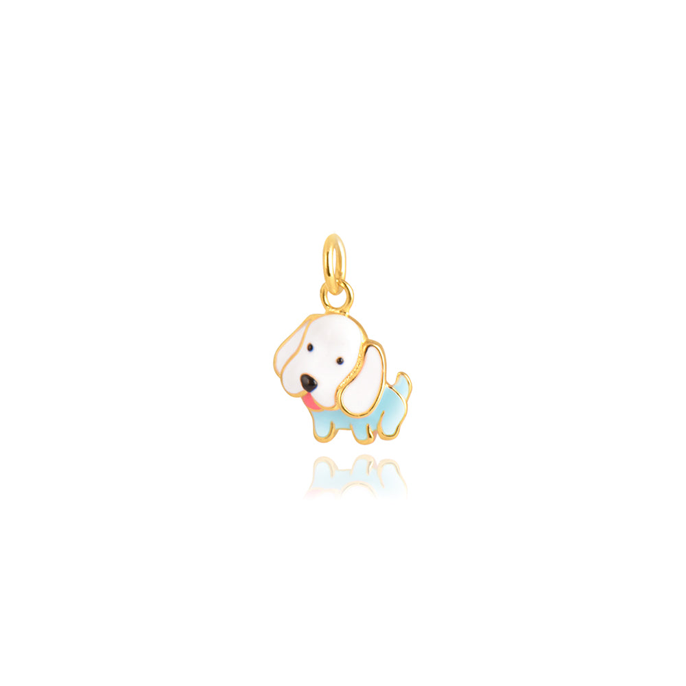 Puppy Pendant, Gold Plated Collection