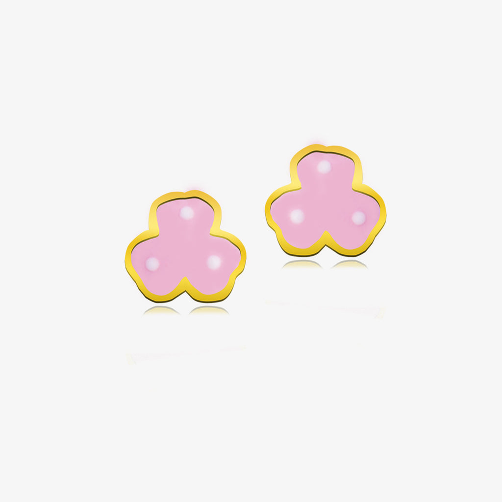 18K Gold Massie's Magic Flower Earrings, Storybook Collection