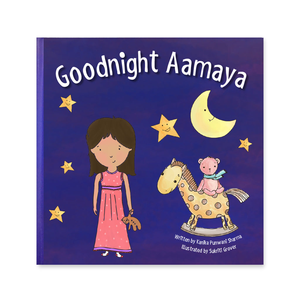 Personalised Goodnight Storybook - Girl