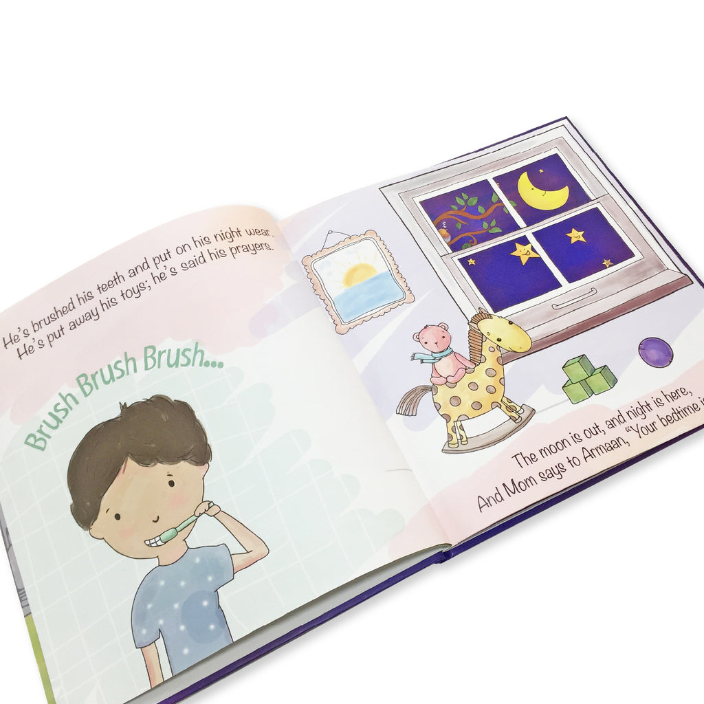 Personalised Goodnight Storybook - Boy