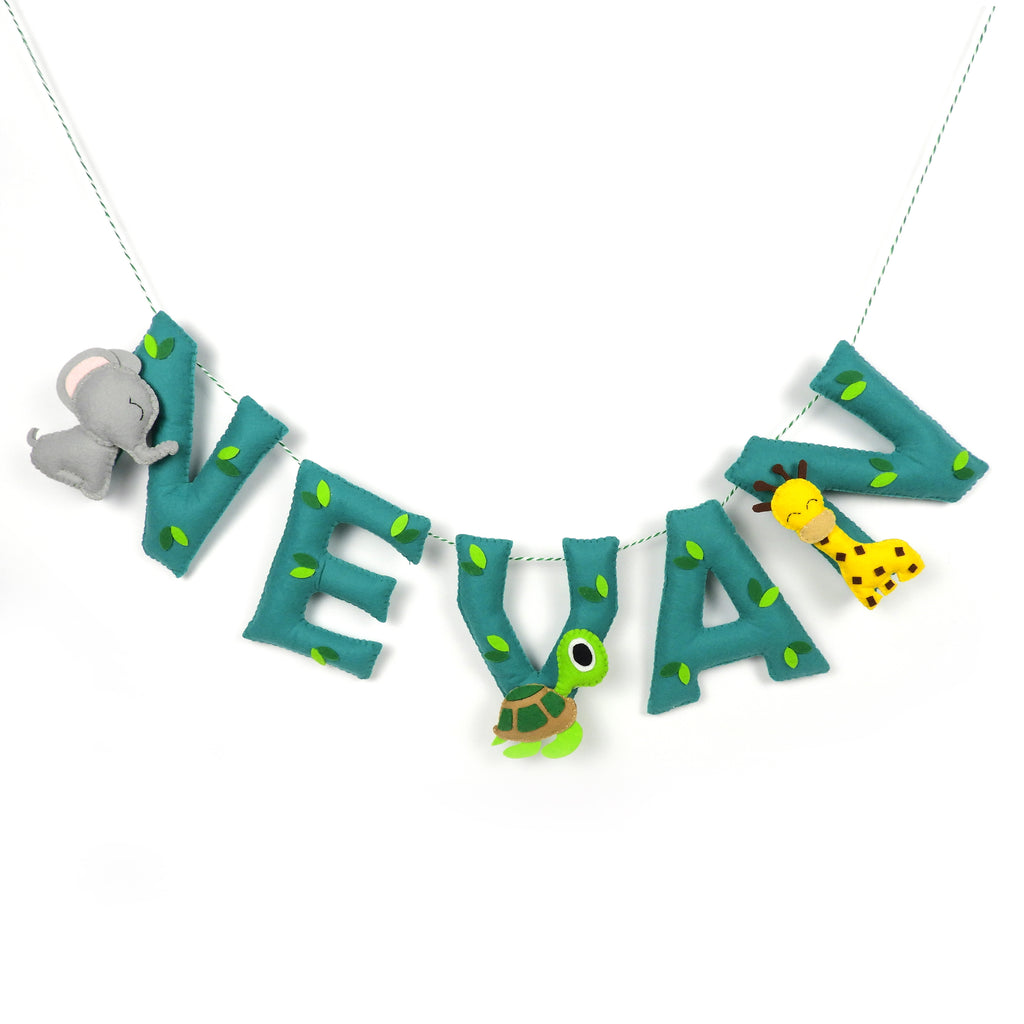 Personalised Animal Name Bunting - Price per Letter