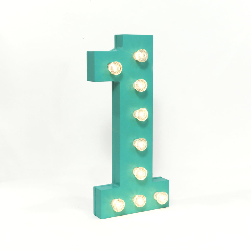 Marquee Lights - Number