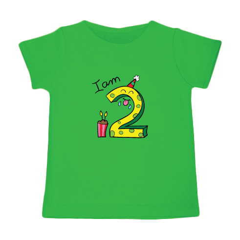 Birthday Tee - I am Two