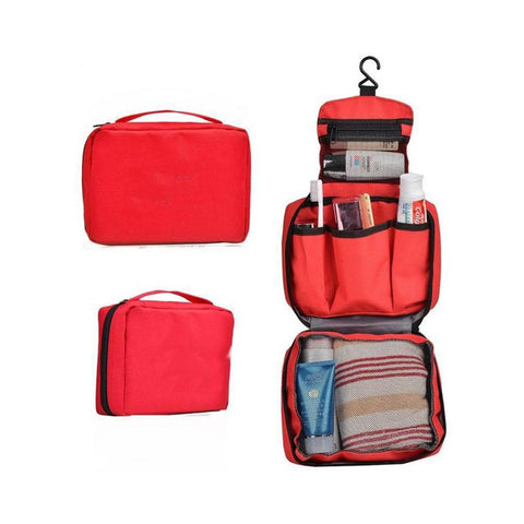 Waterproof Foldable Travel Bag/ Make up Bag (Assorted Colours)
