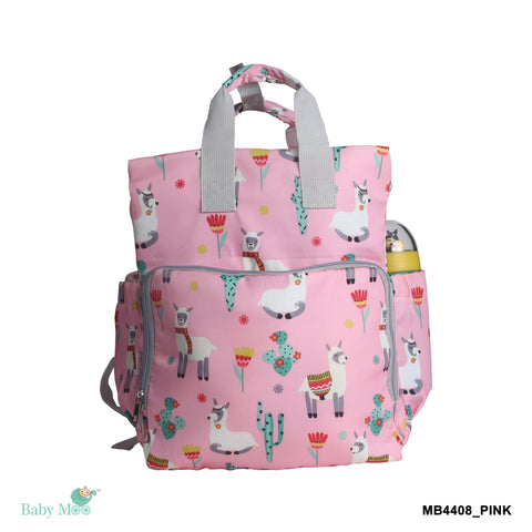 Nature Lover Pink Diaper Bag